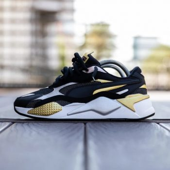 """Puma RS-X3 """"Black Metallic Gold"""" : Sale Price: $59.99 (Retail $110)  – FREE SHIPPING – use code:  – GET20 –  at checkout"""