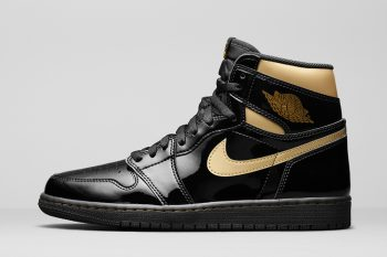 "Restock: Air Jordan 1 High Retro ""Metallic Gold"""