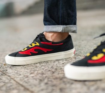 "Vans Bold Ni ""Flamethrower"": Sale Price: $39.97 (Retail $80)  – free shipping on orders $89+"