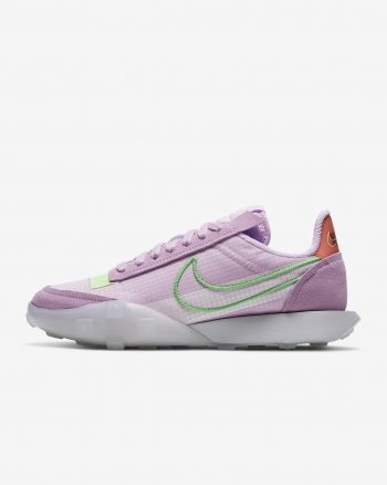 W Nike Waffle Racer 2X 'Arctic Pink / Poison Green' $68.97 Free Shipping
