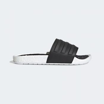 """adidas Adilette Boost Slides """"Black"""": Sale Price: $47.99 (Retail $60)  – FREE SHIPPING – use code:  – APR20 –  at checkout"""