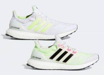 """adidas UltraBOOST 5.0 DNA """"Glow in the Dark"""": Sale Price: $120 (Retail $180)  – use code:  – SHOUTS2021 –  at checkout"""