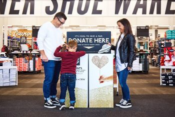 FREE $10 at DSW for donating a pair of shoes – $0