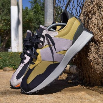 """New Balance 327 """"Golden Poppy"""": Sale Price: $84 (Retail $120)  – FREE SHIPPING – use code:  – FAST30 –  at checkout"""