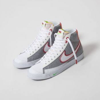"""Nike Blazer Mid '77 """"Recycled Canvas"""": Sale Price: $80.97 (Retail $110)  – FREE SHIPPING"""