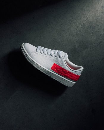 """Now Available: Air Jordan 1 Centre Court """"Sail Red"""""""
