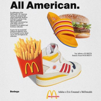 """Now Available: Eric Emanuel x adidas """"McDonald's Collection"""""""