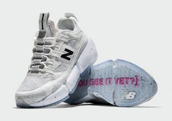 """Now Available: Jaden Smith x New Balance Vision Racer """"Natural"""""""