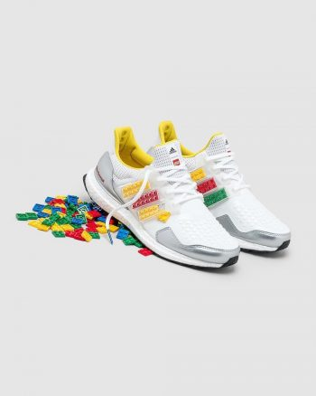"Now Available: LEGO x adidas UltraBOOST DNA ""Plates"""