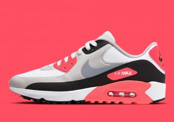 """Now Available: Nike Air Max 90 Golf """"Infrared"""""""