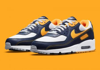 """Now Available: Nike Air Max 90 """"Michigan"""""""