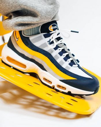 """Now Available: Nike Air Max 95 """"Michigan"""""""