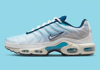 """Now Available: Nike Air Max Plus """"Psychic Blue"""""""