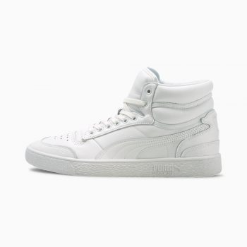 """Puma Ralph Sampson Mid """"Triple White"""": Sale Price: $27.99 (Retail $90)  – use code:  – REFRESH20 –  at checkout  – free shipping on orders $50+"""