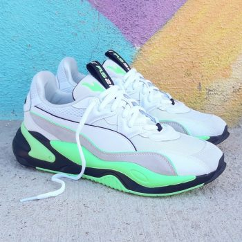 "Puma RS-2K Runner ""Elektro Green"": Sale Price: $39.99 (Retail $120)  – use code:  – REFRESH20 –  at checkout  – free shipping on orders $50+"