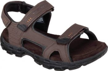 Skechers Relaxed Fit Conner Louden Men's Sport Sandal (Brown, Size 12-14): $26.35 (Retail: $55) + Free Shipping [Use code 'AFFSHOE45' at checkout]