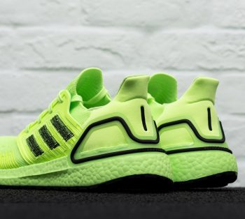 """adidas UltraBOOST 20 """"Signal Green"""": Sale Price: $93.49 (Retail $180)  – FREE SHIPPING – use code:  – FFMAY15 –  at checkout"""
