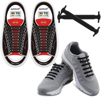 HOMAR No Tie Shoelaces for Kids and Adults $4.50