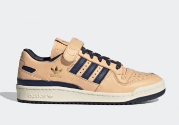 "Now Available: adidas Forum '84 Low ""Tan Navy"""