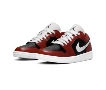"""Now Available: Air Jordan 1 Low (W) """"Gym Red"""""""