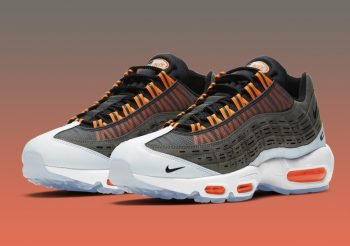"Now Available: Kim Jones x Nike Air Max 95 ""Total Orange"""