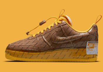 """Now Available: Nike Air Force 1 Experimental """"Archaeo Brown"""""""