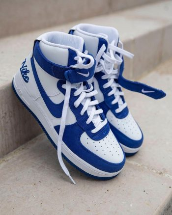 """Now Available: Nike Air Force 1 High EMB """"Dodgers"""""""