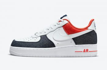"Now Available: Nike Air Force 1 Low Denim ""USA"""