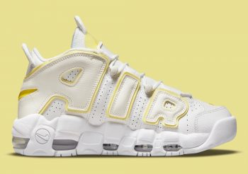"""Now Available: Nike Air More Uptempo (W) """"Opti Yellow"""""""
