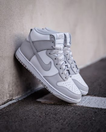 """Now Available: Nike Dunk High """"Vast Grey"""" (2021)"""