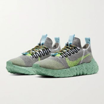 """Now Available: Nike Space Hippie 01 """"Grey Volt"""""""