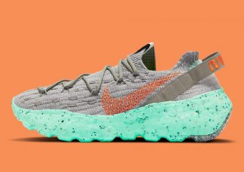 """Now Available: Nike Space Hippie 04 """"Green Glow"""""""
