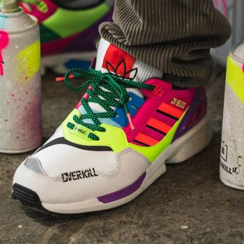 "Now Available: Overkill x adidas ZX 8500 ""Multicolor"""