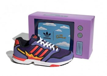 """Now Available: The Simpsons x adidas ZX 1000 """"Flaming Moes"""""""