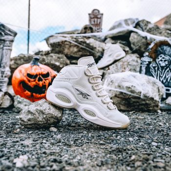 """Reebok Question Mid """"Boktober"""": Sale Price: $103.99 (Retail $150)  – FREE SHIPPING – use code:  – EOM20 –  at checkout"""