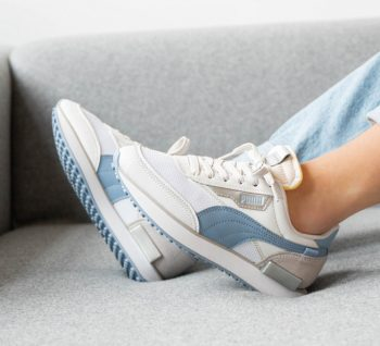 """Women's Puma Future Rider """"Grey Blue"""": Sale Price: $25 (Retail $80)  – use code:  – PUMA50 –  at checkout  – free shipping on orders $30+"""