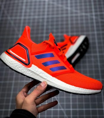 """adidas UltraBOOST 20 """"Solar Red"""" : Sale Price: $99.97 (Retail $180)  – FREE SHIPPING"""