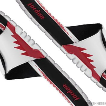 """Air Jordan Hydro V Retro Slide """"Fire Red"""": 10% OFF with code """" – SHOUTS10 – """" at checkout"""