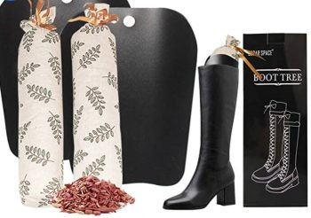 Boot Shapers for Tall Boots Women $7.99 at amazon