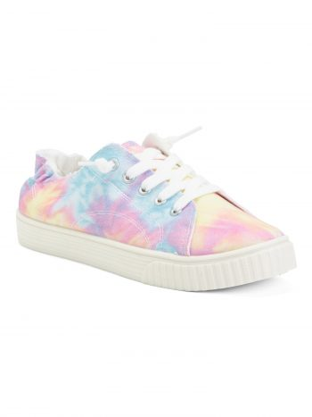 MADDEN GIRL Tie Dye Lace Up Easy Slip On Shoes $10 + Free S/H