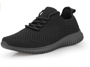 Mens Walking Shoes Breathable Comfortable Casual Non-Slip Sneakers (All colors) from $18.59