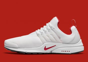 """Nike Air Presto OG """"White Red"""": Sale Price: $110.50 (Retail $130)  – FREE SHIPPING  – use code:  – PARJUN15 –  at checkout"""