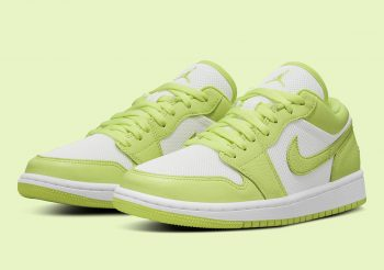 """Now Available: Air Jordan 1 Low (W) """"Limelight"""""""
