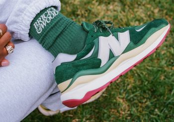 """Now Available: Brick & Wood x New Balance 57/40 """"Forest Green"""""""