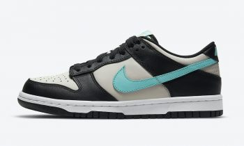 """Now Available: Kid's Nike Dunk Low """"Tiffany"""""""