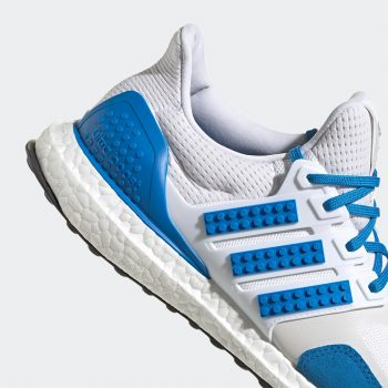 """Now Available: LEGO x adidas UltraBOOST DNA """"Shock Blue"""""""