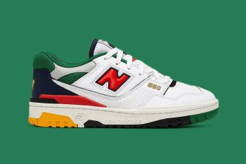 """Now Available: New Balance 550 """"Colorized Court"""""""
