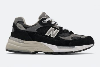 """Now Available: New Balance 992 """"Black Silver"""""""