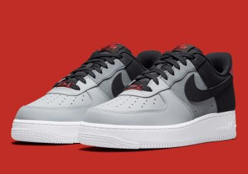 """Now Available: Nike Air Force 1 Low """"Black Smoke"""""""