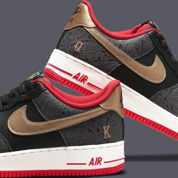 """Now Available: Nike Air Force 1 Low """"Spades"""""""